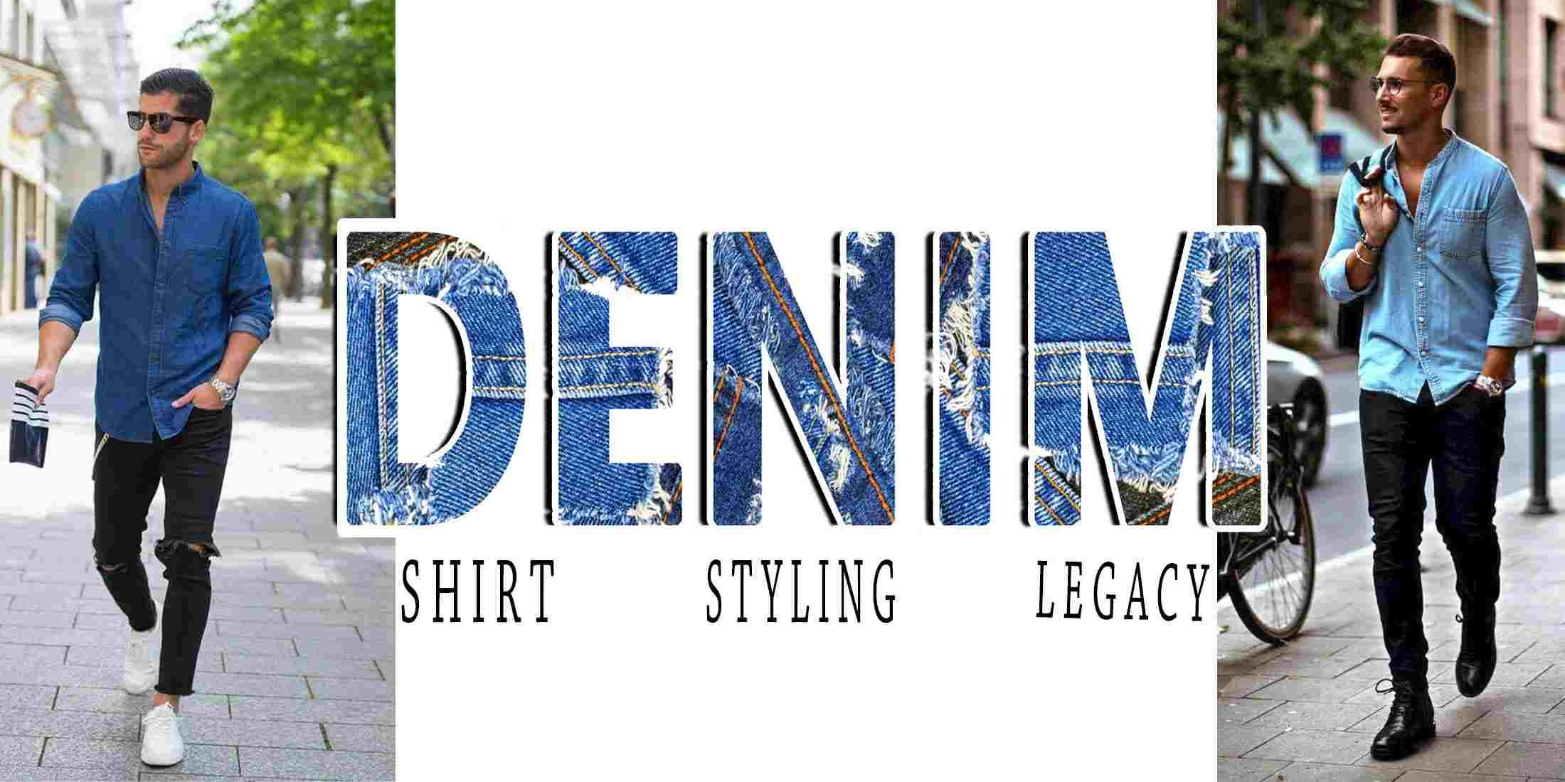 9739f57597 How to Wear Denim Shirt In Summer